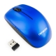 Мышь Гарнизон GMW-400B беспроводная синяя, чип X, 1200 DPI, 2 кн.+ колесо-кнопка