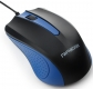 Мышь Гарнизон GM-105B USB синяя, чип Х, 800 DPI, 2кн.+колесо-кнопка