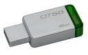 Флэш-диск 16Gb Kingston DataTraveler 50 USB3.0 серебристый/зеленый (DT50/16GB)