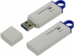 Флэш-диск 16Gb Kingston DataTraveler G4 USB3.0 белый/синий (DTIG4/16GB)