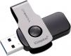 Флэш-диск 32Gb Kingston DataTraveler Swivl USB3.0 серебристый/черный (DTSWIVL/32GB)