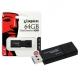 Флэш-диск 64Gb Kingston DataTraveler 100 G3 USB3.0 черный (DT100G3/64GB)