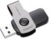 Флэш-диск 64Gb Kingston DataTraveler Swivl USB3.0 серебристый/черный (DTSWIVL/64GB)
