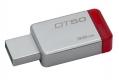 Флэш-диск 32Gb Kingston DataTraveler 50 USB3.0 серебристый/красный (DT50/32GB)
