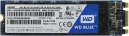 Жесткий диск SSD M.2 SATA III 500Gb WD Blue (80 мм, 3D TLC, R560Mb/W530Mb, R95K IOPS/W84K IOPS, 1.7M MTTF) (WDS500G2B0B)