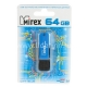 Флэш-диск 64Gb Mirex City Blue