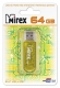 Флэш-диск 64Gb Mirex Elf Yellow